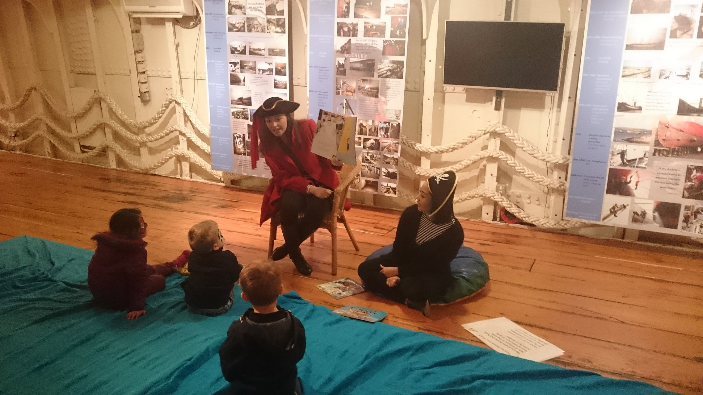 Storytelling - An example of a themed day with entertainment for the young